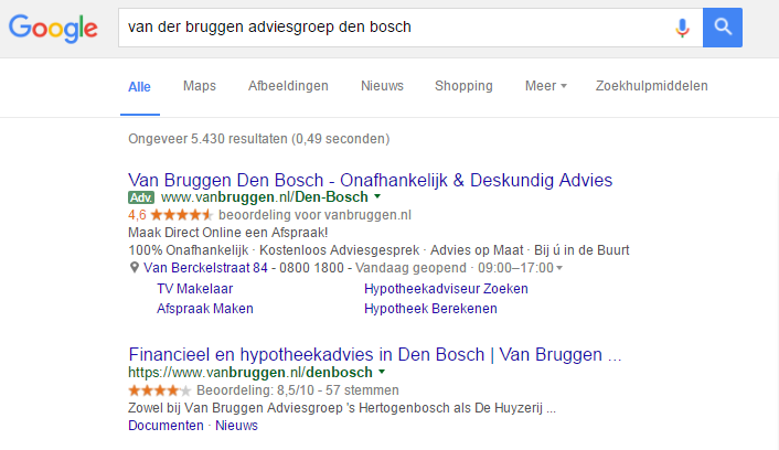 google-seller-ratings-voorbeeld